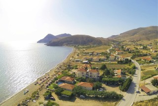 parathinalos apartments on lemnos